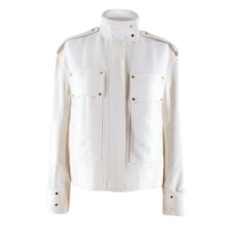 Tom Ford Ivory Military Style Jacket