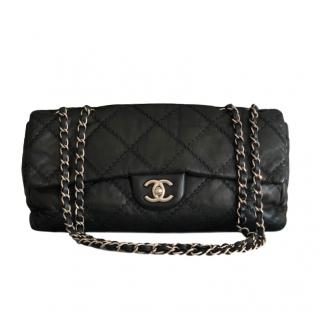 Chanel black lambskin Ultimate Stitch flap bag