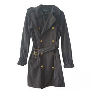 Lauren Ralph Lauren Black Trench Coat