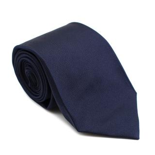 Marzullo Navy Blue Silk Tie