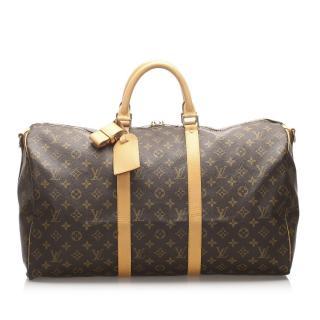 Louis Vuitton Monogram Keepall 50 Bandouliere