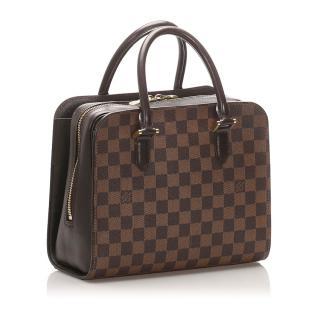 Louis Vuitton Damier Ebene Triana Tote Bag