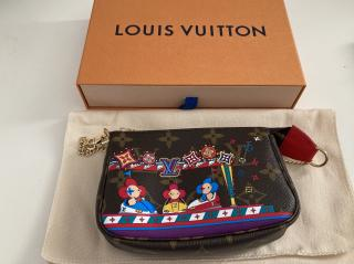 Louis Vuitton Limited Edition Vivienne Xmas Mini Pochette 2020