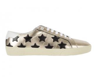Saint Laurent SL-06 Metallic Star Sneakers