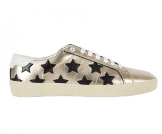 Saint Laurent SL-06 Metallic Star Sneakers