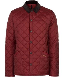 Barbour Men's Red Quilted Eskdale Jacket