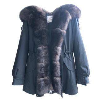 Thomas Bieber Fur Rabbit & Fox Fur Trim Parka