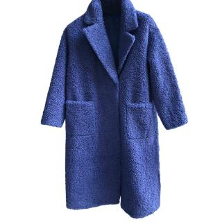 Thomas Bieber Faux Fur Oversize Teddy Coat