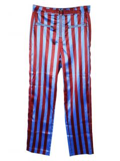 Self Portrait high rise Candy zip trousers