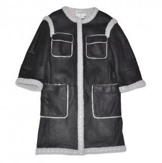 Gharani Strok London Women S Jacket Black Zip Up Lined Biker Style Top