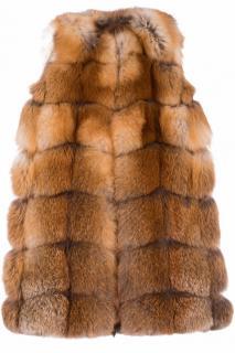 FurbySD Fox Fur Longline Gilet