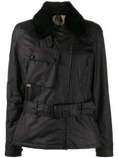 Belstaff Sammy Miller black waxed jacket