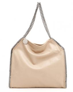 Stella McCartney Beige Falabella Tote Bag