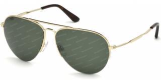 Balenciaga black intarsia logo Aviator sunglasses