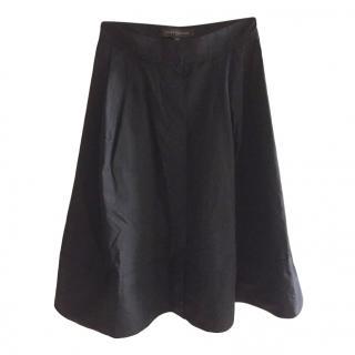 Louis Vuitton black cotton skirt