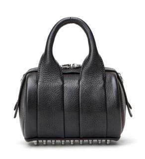 Alexander Wang Baby rockie black leather bag