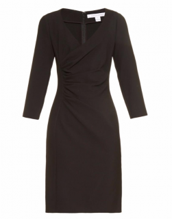 DVF Eliana Ruched Sheath Dress