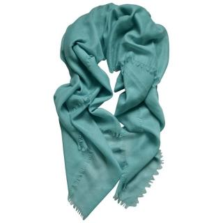 Ralph Lauren Collection Cashmere Blend Turquoise Shawl
