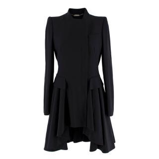 Alexander McQueen Black Tuxedo Coat