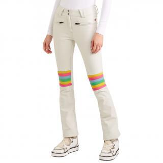 Perfect Moment Aurora white ski trousers