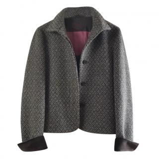 Etro cashmere brown jacket