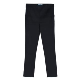 Prada Black Tailored Skinny Trousers