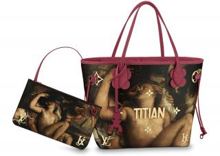 Louis Vuitton Jeff Koons Masters Titian Neverfull MM tote bag