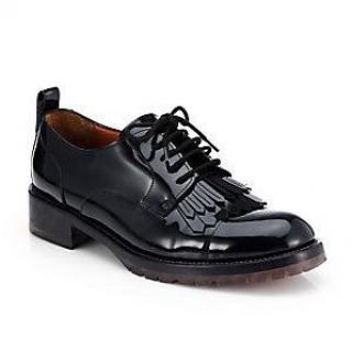 Valentino tassel patent leather formal shoes