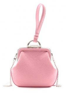 Ermanno Scervino pink small leather crossbody bag