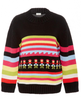 Temperley Nevada Stripe Knit Merino Jumper