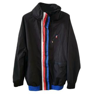 P E Nation black zip up running jacket