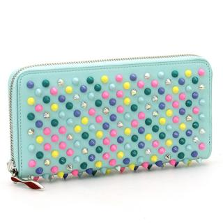 Christian Louboutin Multi-Coloured Panettone Spike Wallet