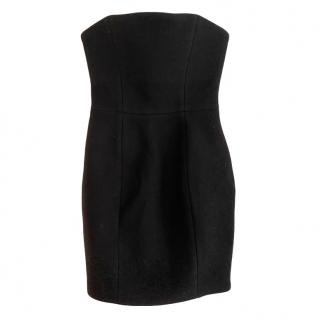 Stella McCartney Black Strapless Mini Dress