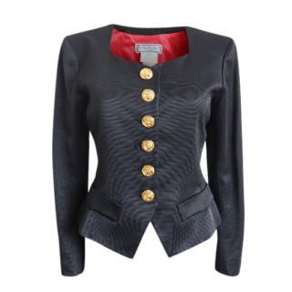Yves Saint Laurent vintage black tailored jacket