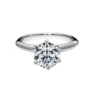 Tiffany & Co. Platinum Set Diamond Engagement Ring