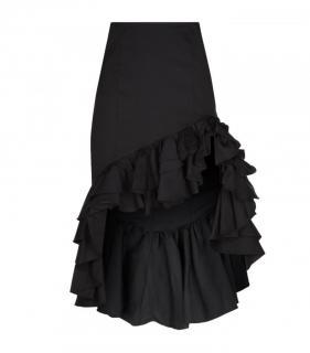 Caroline Constas Ruffled Asymmetric Pencil Skirt