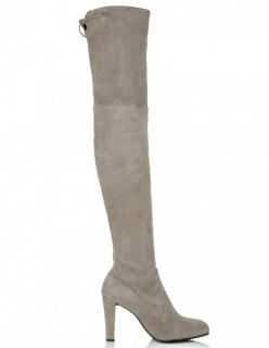 Stuart Weitzman Highland Topo Suede Boots