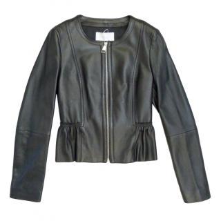 Boss Hugo Boss Sahota Black Collarless Jacket