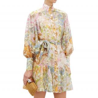 Zimmermann Super Eight ruffled floral print dress