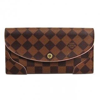 Louis Vuitton Caissa Ebene Damier wallet