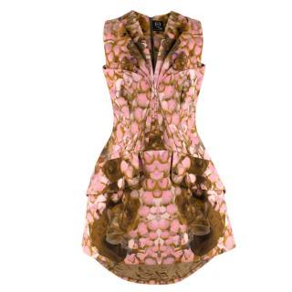 McQ by Alexander McQueen Abstract Structured Mini Dress - Worn on BGT