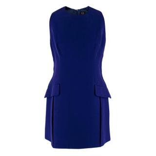 McQ by Alexander McQueen Royal Blue Fitted Dress