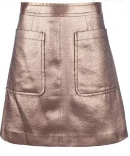 Marc by Marc Jacobs Metallic Verushka skirt