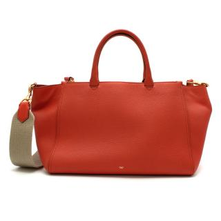 Anya Hindmarch Orange Top Handle Bag