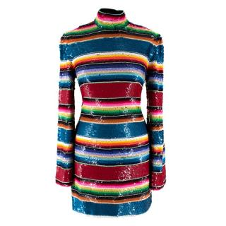 Ashish Multi-Colour Sequin Mini Dress - Worn on The Greatest Dancer
