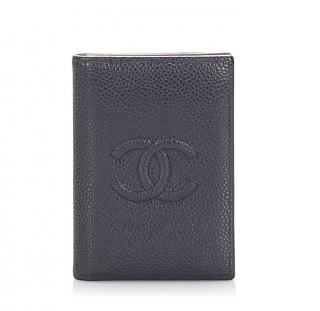Chanel CC Caviar Card Holder