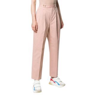 Polo Ralph Lauren pink straight leg trousers