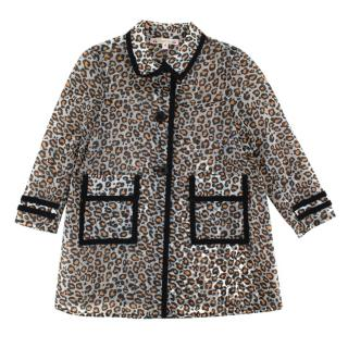 Bonpoint Animal Print Kid's Raincoat