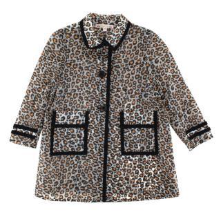 Bonpoint Animal Print Kid's Raincoat