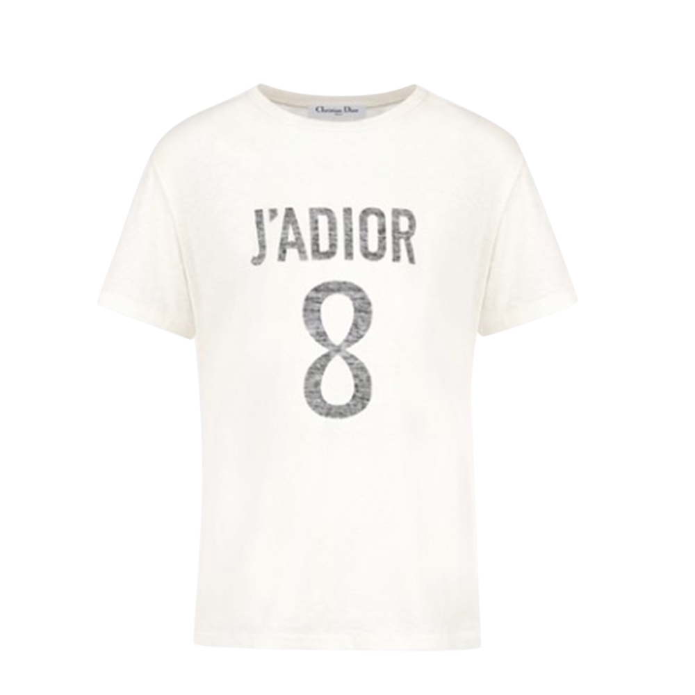 Christian Dior J'adior Linen & Cotton T-Shirt